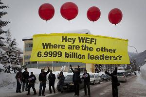 26 Jan 2012 Occupy Davos Protest