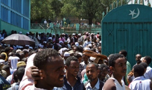 ETHIOPIA-RELIGION-MUSLIM-PROTEST